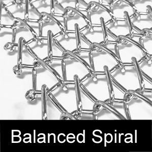 Balanced Spiral Belt