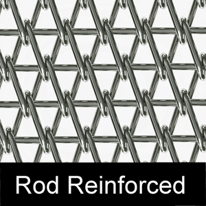 Chain Link Rod Reinforced Belt