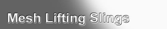 Mesh Lifting Slings